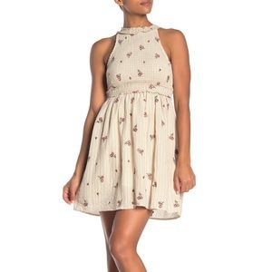 NWT Taylor & Sage | Smocked Embroidered Dress | M
